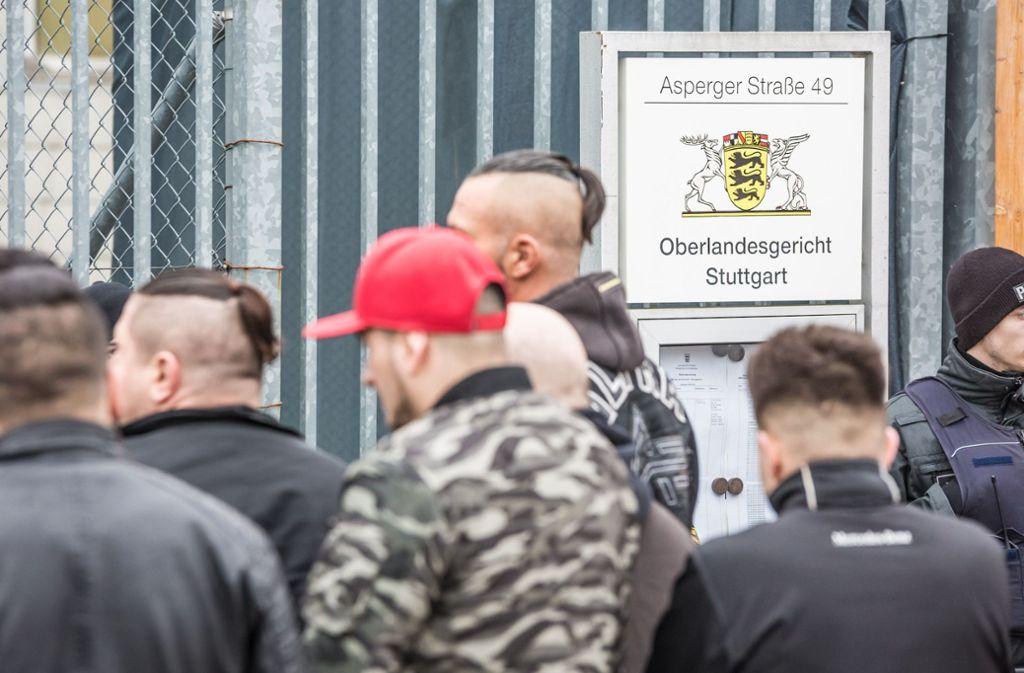 Zahlreiche Anhänger des Boxclubs Osmanen Germania sagen aus – verwickeln sich aber in Widersprüche. Foto: Lichtgut/Julian Rettig