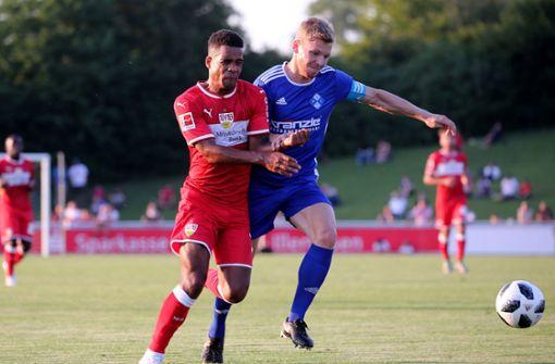 VfB spielt 3:3 bei Viertligist - Gonzalez und Didavi treffen
