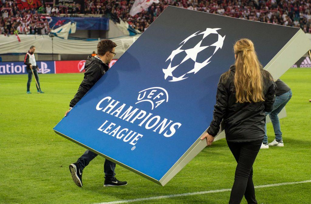 Die vier deutschen Champions-League-Teilnehmer spenden 20 Millionen Euro in einen Topf. Foto: dpa/Sebastian Kahnert