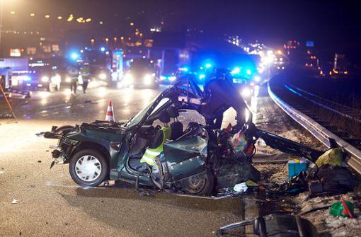 Von Lastwagen erfasst – zwei Tote