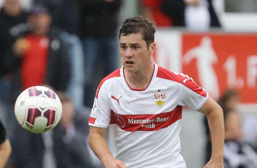 Marco Rojas, hier noch im Trikot des VfB Stuttgart, startet für Neuseeland beim Confed Cup in Russland. Foto: Pressefoto Baumann