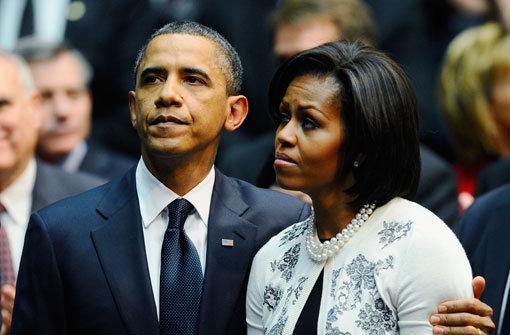 Obama hält emotionale Rede