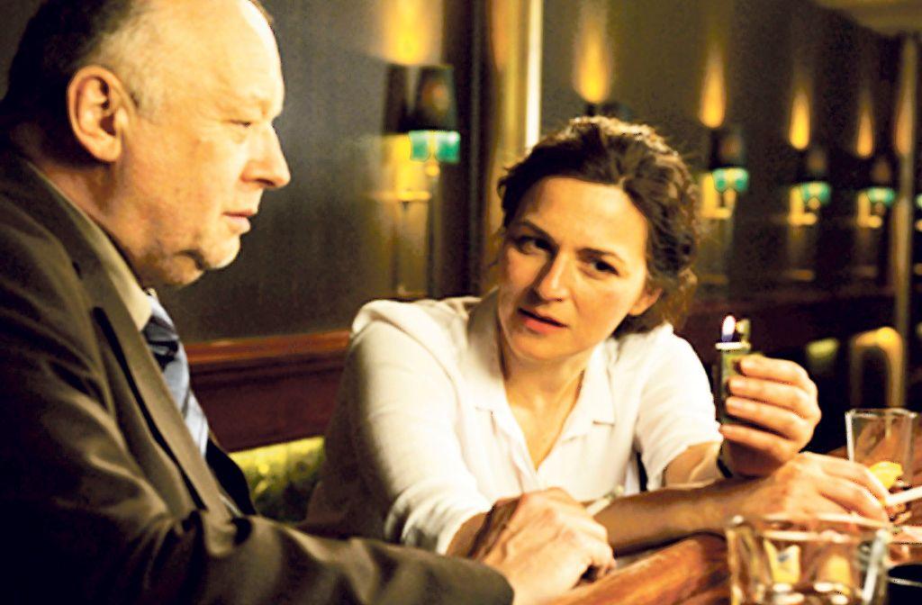 """Thomas Thieme  und Martina Gedeck in Carsten Ungers Film """"Bastard"""" Foto: Verleih"""