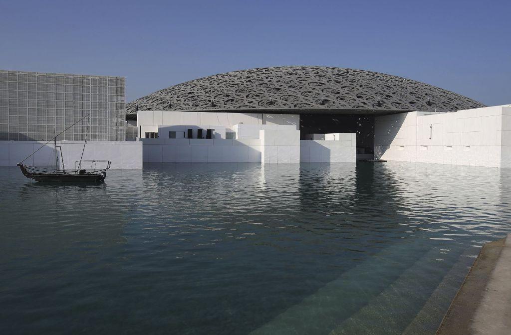 Die Dependance – Louvre Abu Dhabi – eröffnet nach mehrmaliger Verzögerung am kommenden Samstag in in dem Arabischen Emirat. Foto: AP