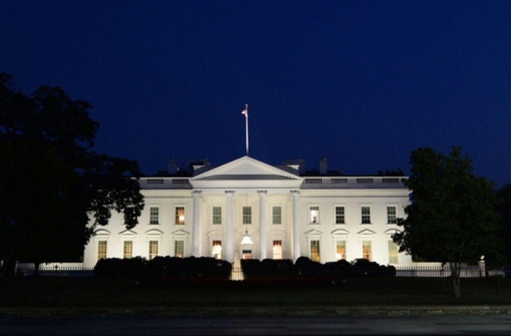 Ein Einbrecher hat es bis ins Weiße Haus geschafft. Foto: dpa