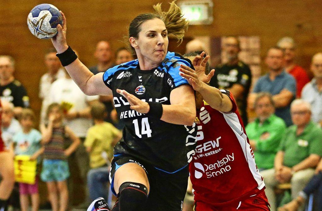 Karolina Kudlacz-Gloc ist einer der Handball-Stars bei der SG BBM Bietigheim Foto: Baumann