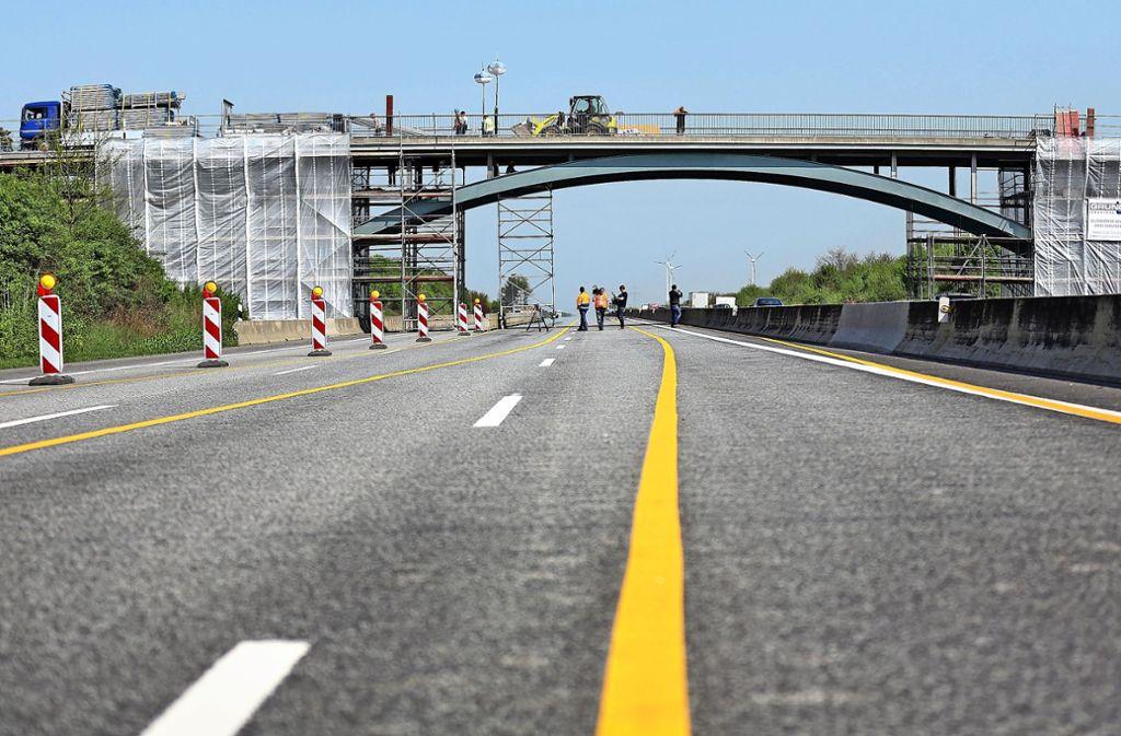 Tausende Brücken müssen saniert werden – das geht nicht ohne Verkehrsbehinderungen. Foto: dpa