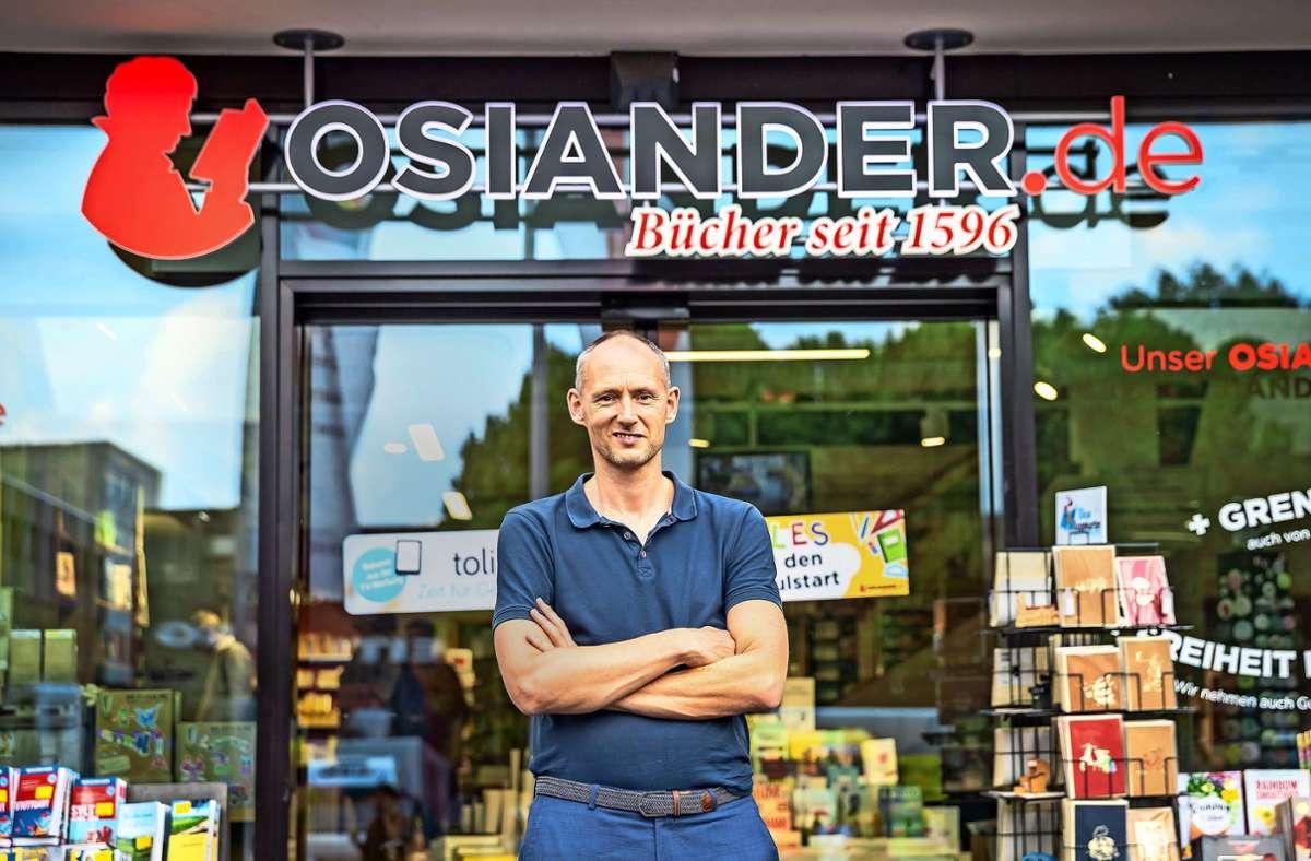Osiander-Geschäftsführer Christian Riethmüller Osiander-Geschäftsführer Christian Riethmüller Foto: Lichtgut/Julian Rettig/Julian Rettig