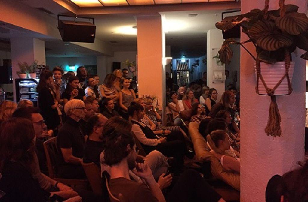 Bei Oliver Gehrkes Vortrag im Holzapfel, gab es keinen freien Sitzplatz mehr. Foto: StZ