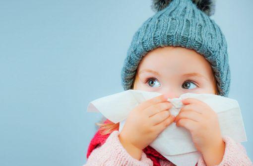 Infektwelle  ist vor allem für  ganz Kleine kritisch