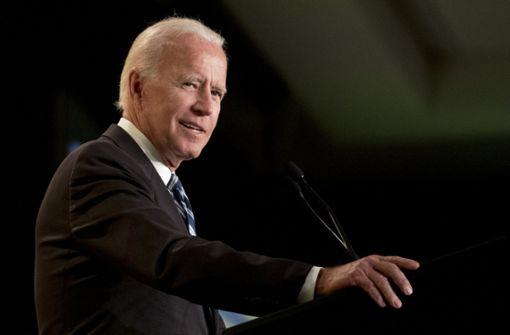 Kam Joe Biden Parteikollegin zu nahe?