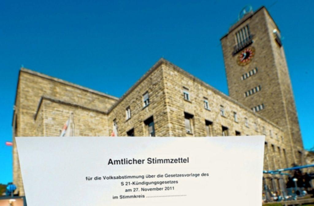 Bürgerbeteiligung schreibt die Landesregierung ganz groß. Die Volksabstimmung zu Stuttgart 21 war der erste Schritt, weitere sollen folgen. Foto: dpa