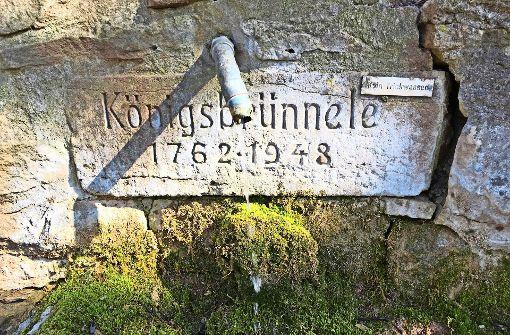 Die Quelle, an deren Tropf Herrenberg hing