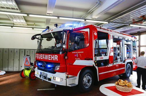 1,4 Millionen   für  die Feuerwehr
