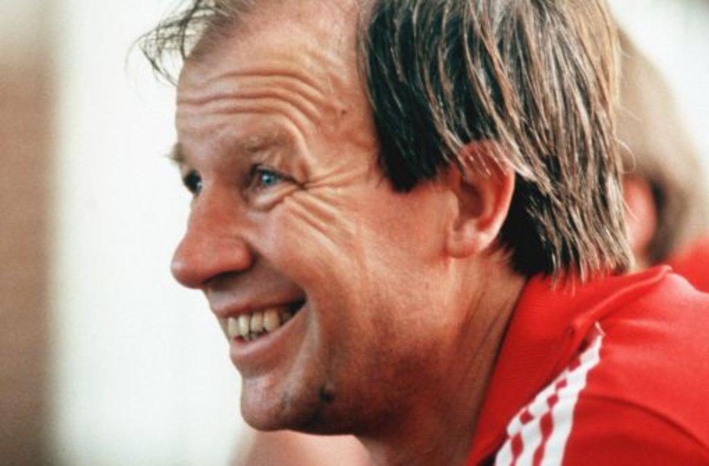 Ex-VfB-Trainer Helmut Benthaus. Foto: Pressefoto Baumann