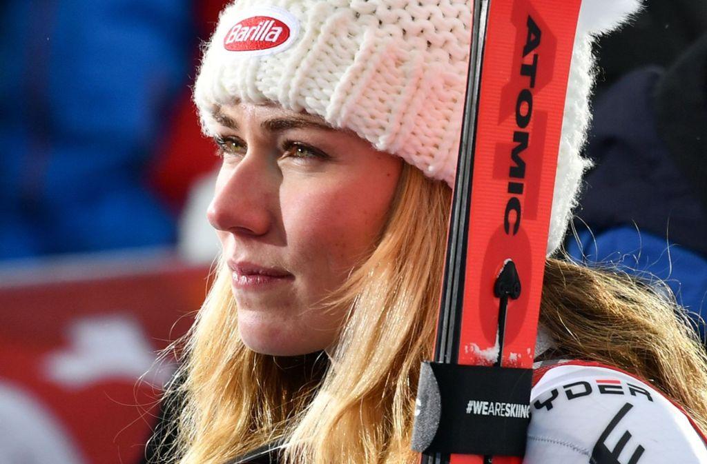 Einfach die Beste ihres Fachs: Alpinstar Mikaela Shiffrin Foto: AFP