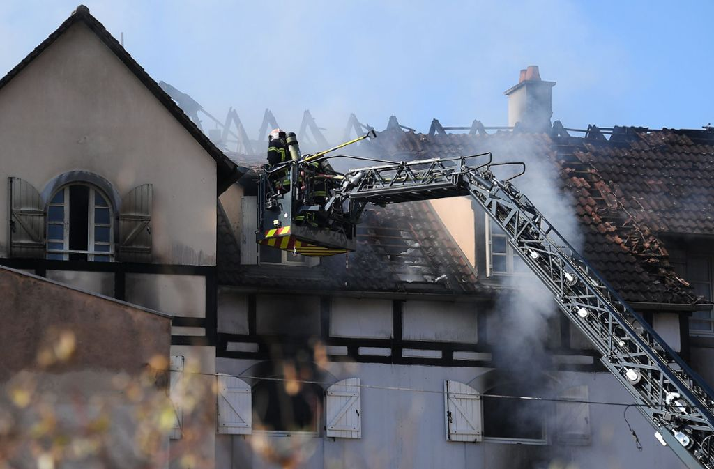 Bei dem Brand in Schiltigheim kam ein Junge ums Leben. Foto: dpa