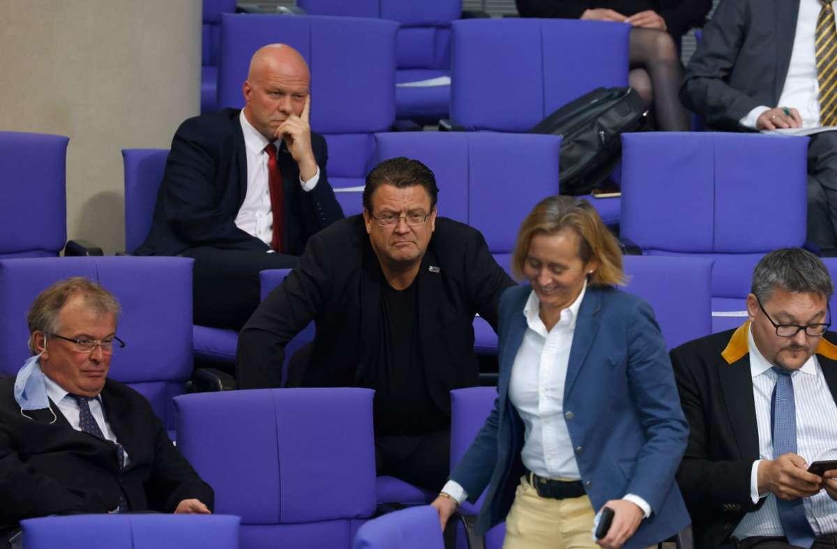 Die AfD-Fraktion im Bundestag. Foto: AFP/ODD ANDERSEN