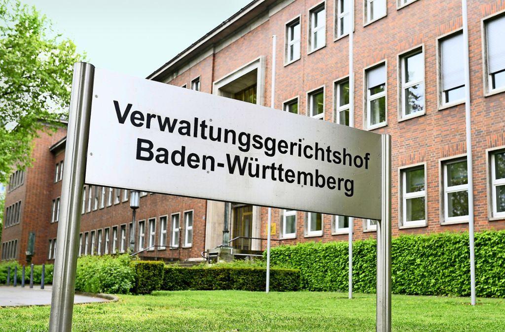 Der Verwaltungsgerichtshof in Mannheim hat sein Urteil jetzt begründet. Foto: dpa/Uwe Anspach