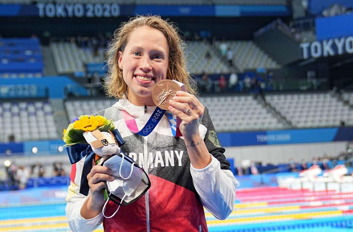 Gewann auch eine Medaille für Deutschland: Sarah Köhler. Foto: dpa/Michael Kappeler