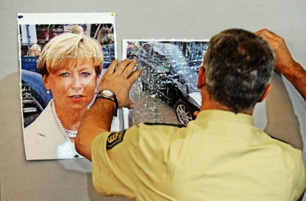 Die Im Mordfall Bögerl ermittelnden Beamten sind mehrfach an die Öffentlichkeit gegangen – hier eine Szene aus einer Pressekonferenz im Foto: dapd
