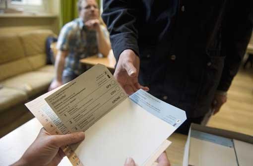 Geringe Wahlbeteiligung zeichnet sich ab