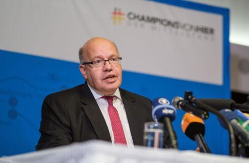 Minister Altmaier sollte keine falschen Erwartungen wecken