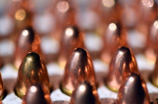 Deutschland verzehnfacht Export von Kleinwaffenmunition