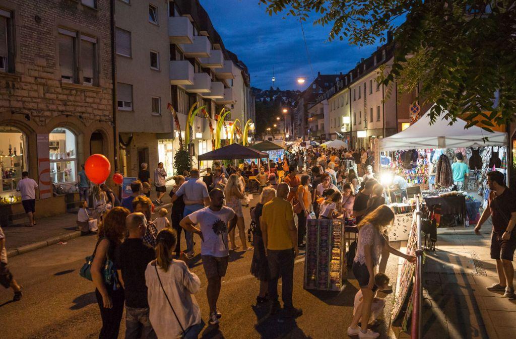 Die Gablenberger Hauptstraße wird für das Fest gesperrt, auch dafür werden Ordner gebraucht. Foto: Lichtgut/Julian Rettig