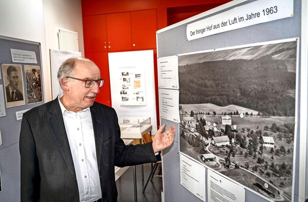 Auch Eberhard Fritz, der Archivar des Herzogs von Württemberg, war zu Gast und hielt einen Vortrag. Foto: factum