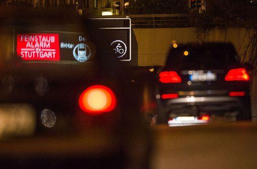 Feinstaubalarm reduziert Autoverkehr nur minimal