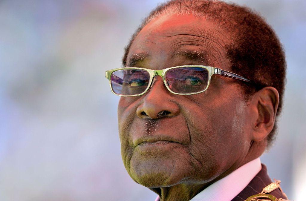 Robert Mugabe hat seinen Rücktritt als Präsident von Simbabwe erklärt. Foto: AFP