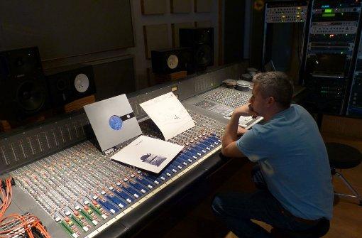 Tommy Wittinger in seinem Studio. Foto: Martin Elbert