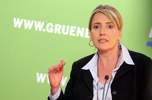 Grünen-Chefin spricht Machtwort