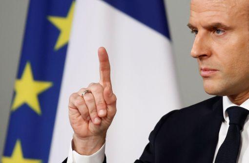 Emmanuel Macron plant die Öko-Offensive