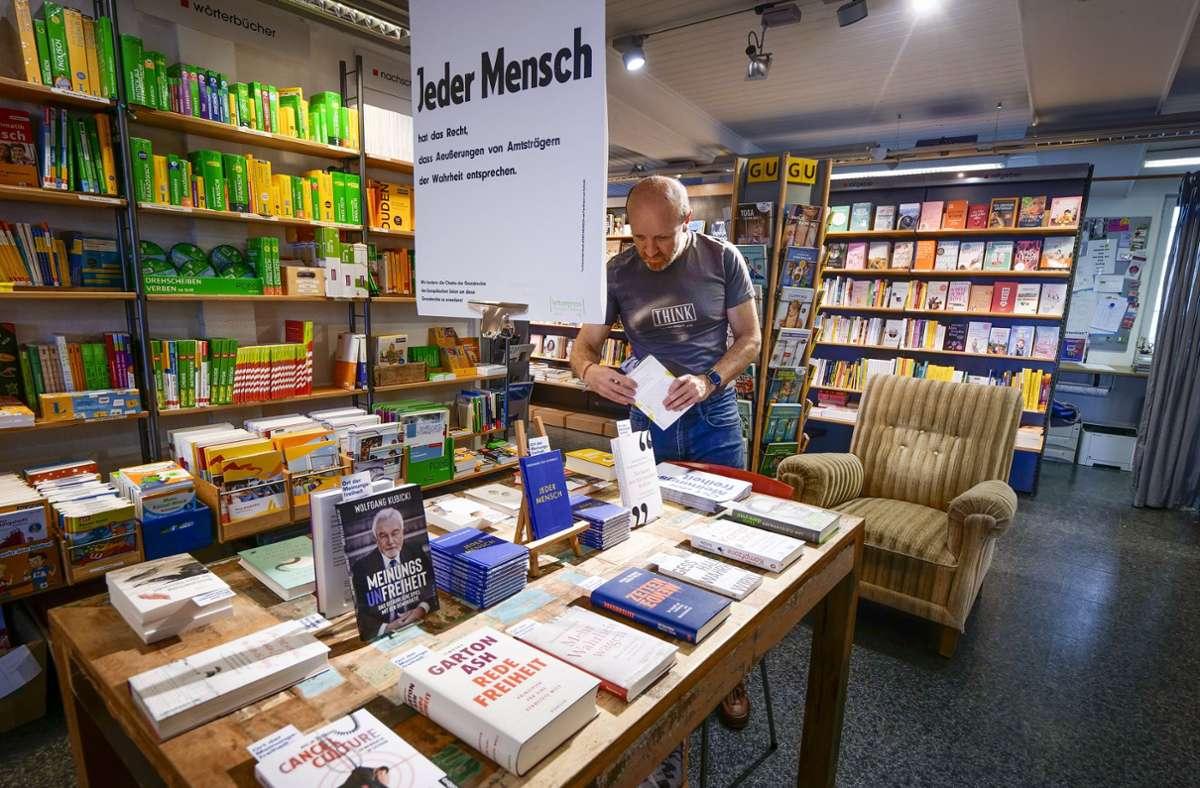 Werner Dengel im One in Rutesheim Foto: Simon Granville