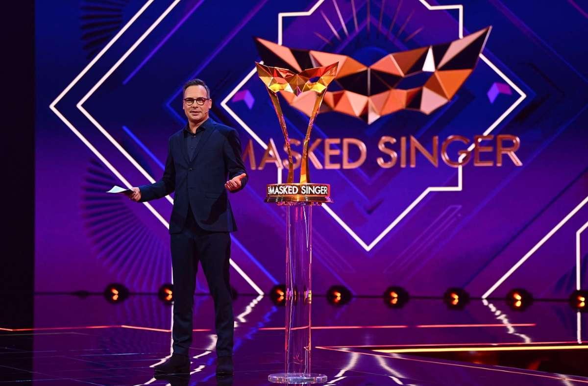 """Matthias Opdenhövel wird auch die vierte Staffel von """"The Masked Singer"""" moderieren. (Archivbild) Foto: /Willi Weber"""