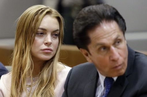 Lindsay Lohan muss auf Entzug
