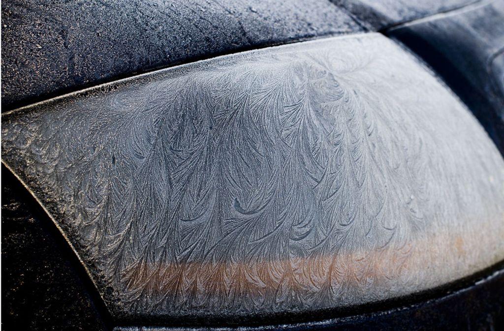 Der 18-jährige Autofahrer war mit vereisten Scheiben unterwegs (Symbolbild). Foto: Lichtgut/Max Kovalenko/Lichtgut/Max Kovalenko