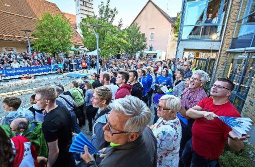 Böhmenkirch brennt für das Kugelstoßen