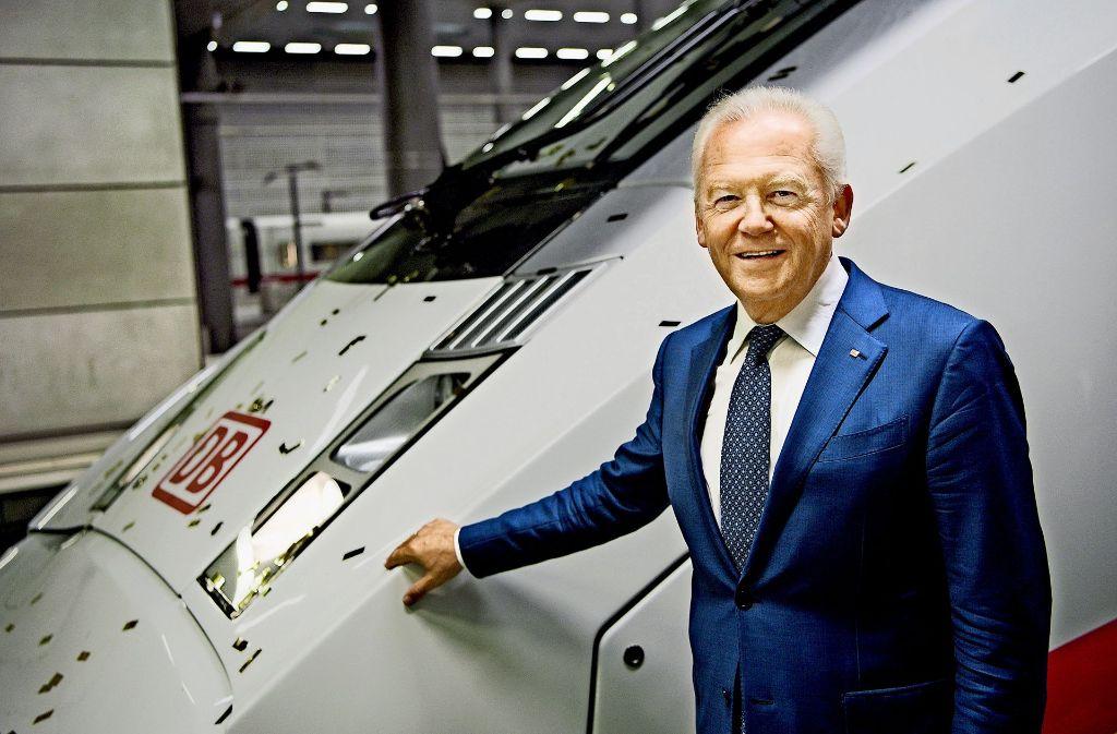 Über den  Sanierungsplan   von Bahnchef Rüdiger Grube für  den kriselnden  Güterverkehr  wird seit  mehr als  einem Jahr diskutiert. Foto: dpa