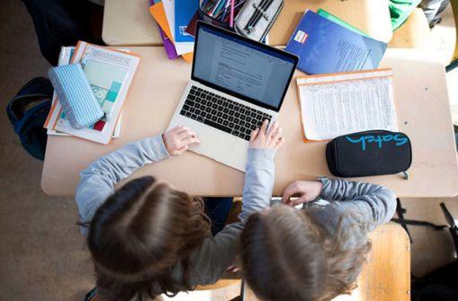 Alle Schüler sollen Laptop oder Tablet haben