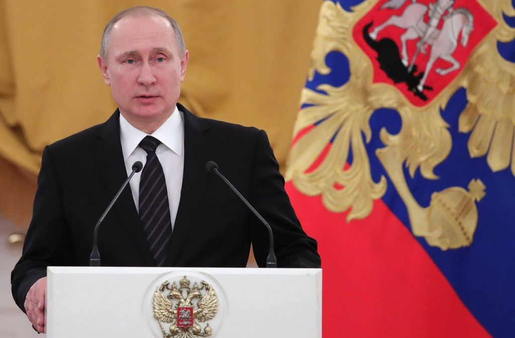 Wladimir Putin hat Russland auf die Weltbühne zurück gebracht. Foto: AP