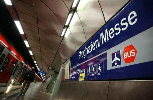 Erste S-Bahn ist vor 5 Uhr am Flughafen Stuttgart