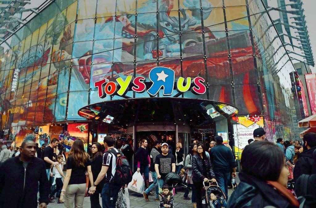 Vor drei Wochen ist der US-Spielwarenfachhändler an seinen Standort am Times Square in New York zurückgekehrt, den er vor zwei Jahren verlassen musste. Foto: AFP