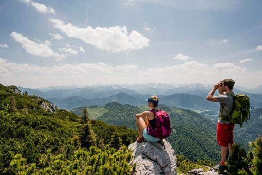 Gemeinsam oben mit der Sektion Schwaben des Deutschen Alpenvereins