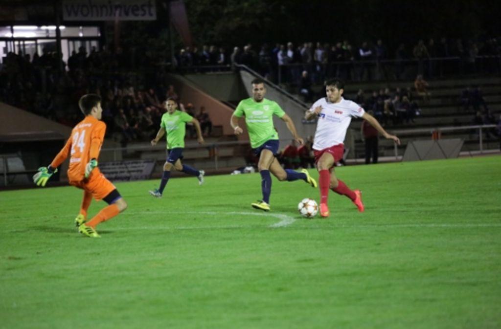 Ferdi Ayaz (mit Ball)  hat in dieser Saison noch Steigerungspotenzial. Foto: Patricia Sigerist