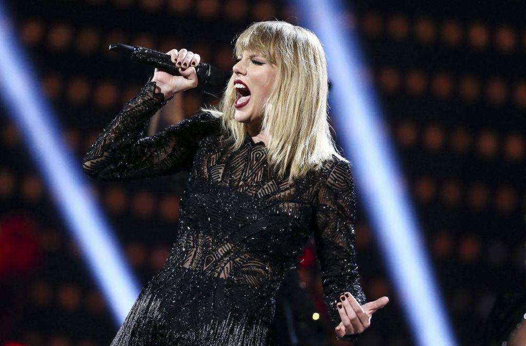 Taylor Swifts Alben gibt es wieder bei Spotify zu hören. Foto: AP
