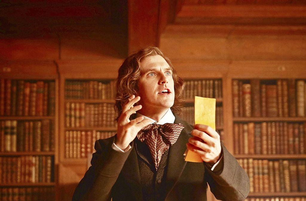 Ein Kampf: Dan Stevens als Charles Dickens Foto: Verleih