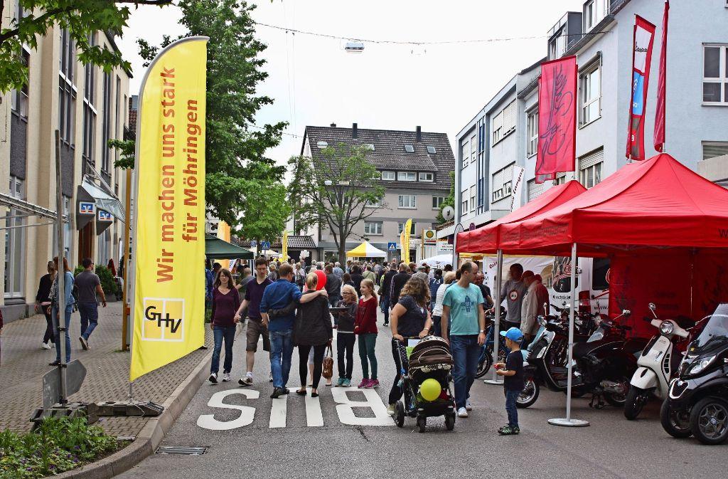 """Im vergangenen Jahr kamen zahlreiche Besucher zu """"Möhringen lädt ein"""". Dieses Jahr entfällt die Veranstaltung. Foto: Archiv Rebecca Stahlberg"""